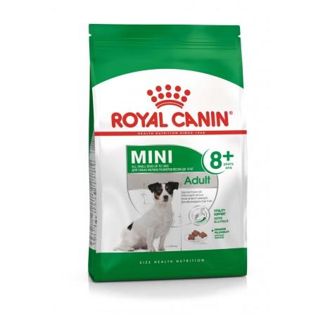 CROQUETTES CHIEN MINI ADULT 8+ 4KG ROYAL CANIN