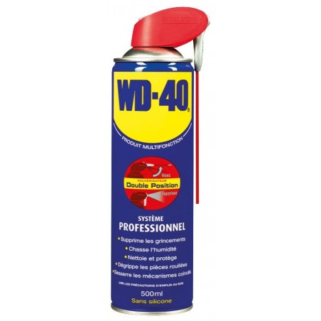 DEGRIPPANT WD40 500ML 2 POSITIONS
