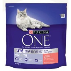CROQUETTES CHAT ONE ADULTE SAUMON 1.5KG PURINA