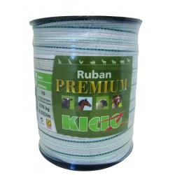 RUBAN CLOT PREMIUM 40 0MM 200M BLANC VER