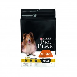PROPLAN CHIEN ALL SIZE LIGHT/STERILISED 3KG