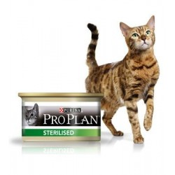 PROPLAN CHAT HUMIDE STERILISED 85G