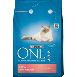 ALIMENT CHAT ONE STERILISED SAUMON 3KG