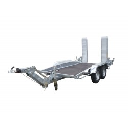REMORQUE PORTE-ENGIN PTAC 3.5T TIMON REGLABLE