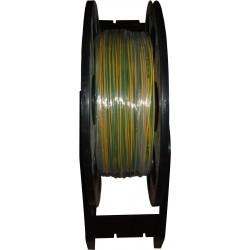 CABLE HO7 V-R 1X10MM  V/JAUNE LE ML
