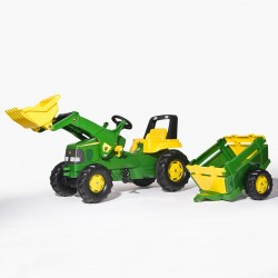 TRACTEUR A PEDALE ROLLY JUNIOR JOHN DEERE