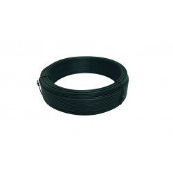 FIL TENSION PLASTIFIE VERT Diamètre 2.4mm LONG 100M