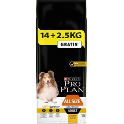 PROPLAN CHIEN ALL SIZE LIGHT/STERILISED 14KG