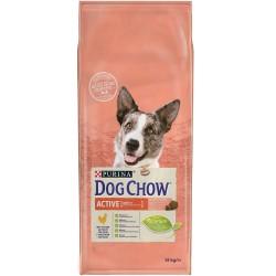 DOG CHOW ACTIVE POULET ET RIZ 14KG