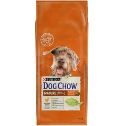 CROQUETTES DOG CHOW MATURE ADULT POULET 14KG