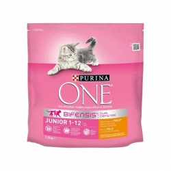 CROQUETTES PURINA ONE JUNIOR POULET 1.5KG