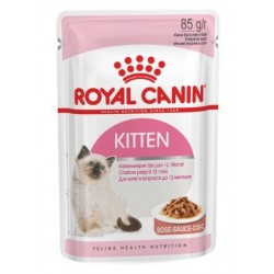 ALIMENT HUMIDE CHAT KITTEN INSTINCTIVE 85G ROYAL CANIN