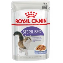 ALIMENT CHAT STERILISED GELEE 85G
