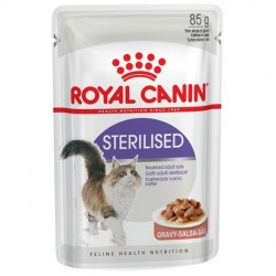 ALIMENT CHAT STERILISED BOUCHEES 85G
