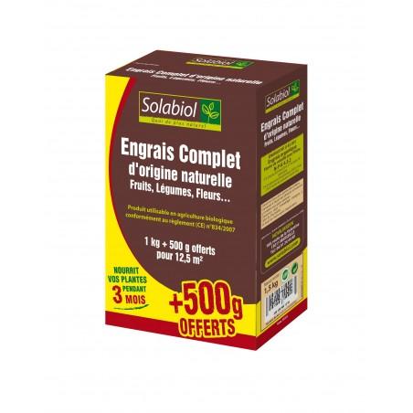 ENGRAIS COMPLET ORIGINE NATURELLE 1 5KG