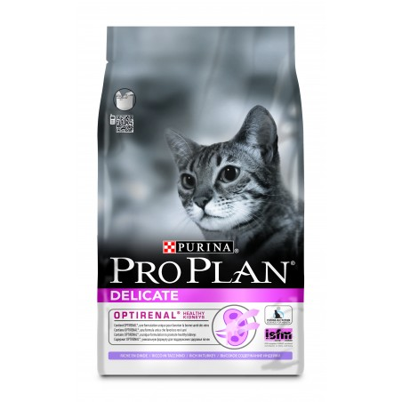 CROQUETTES CHAT PRO PLAN DELICATE 3KG PURINA