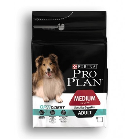 PROPLAN CHIEN MEDIUM ADULT SENSITIVE DIGESTION 14KG