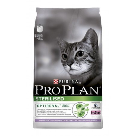 CROQUETTES CHAT PRO PLAN STERILISED 10KG PURINA