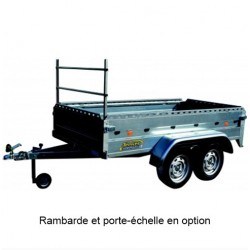 REMORQUE BAG.TV254+750 256X134X45 PTAC 750KG