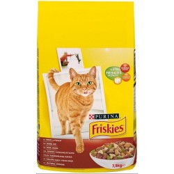 ALIMENT CHAT FRISKIES BOEUF+POULET+LEG 7.5KG