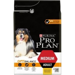 CROQUETTES PROPLAN CHIEN MEDIUM ADULT 3KG PURINA