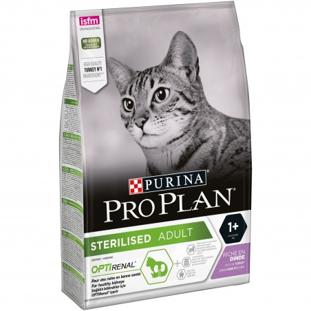 CROQUETTES CHAT PRO PLAN  STERILISED DINDE PURINA