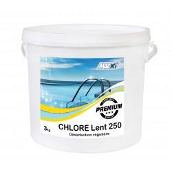 CHLORE LENT 90  250G 3KG
