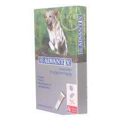 ADVANTIX GRAND CHIEN  BTE 4 X  4ML