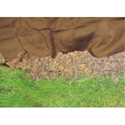 TOILE DE PAILLAGE 1.25M ROUL 100M 130G/M² MARRON