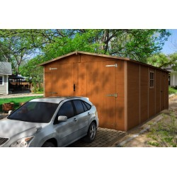 GARAGE BOIS 19MM NEUVY 3.03X5.88M EXT - 17.82M2
