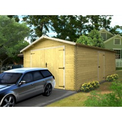 GARAGE BOIS 28MM BEAULIEU 3.68X5.28M EXT - 19.43M2