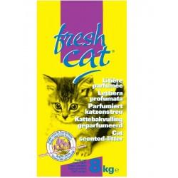 LITIERE CHAT FRESH CAT PARFUMEE GRANULES 8KG