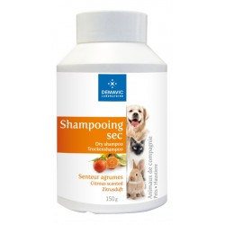 SHAMPOOING SEC AGRUMES POT 150 G