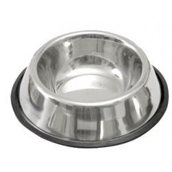 Gamelle inox support caoutchouc 900 ml