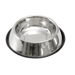 Gamelle inox support caoutchouc 1800 ml